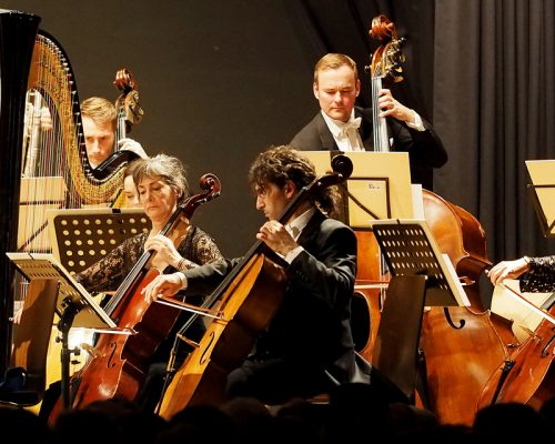 Neujahrskonzert  Residens-Orchester Baden-Württemberg im Backsteinbau Sulz 2.1.2019-Bild: Karl-Heinz Kuball